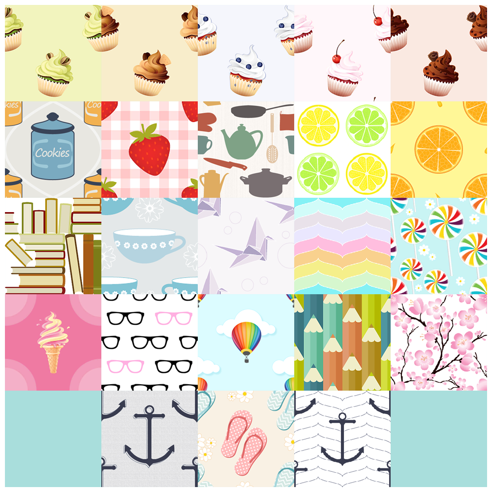 23 new Patterns by Everlasting Garden