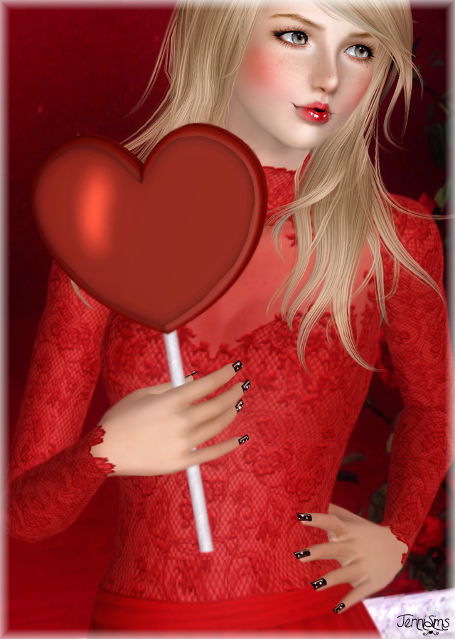 Wand Cuore recolorable by Jenni