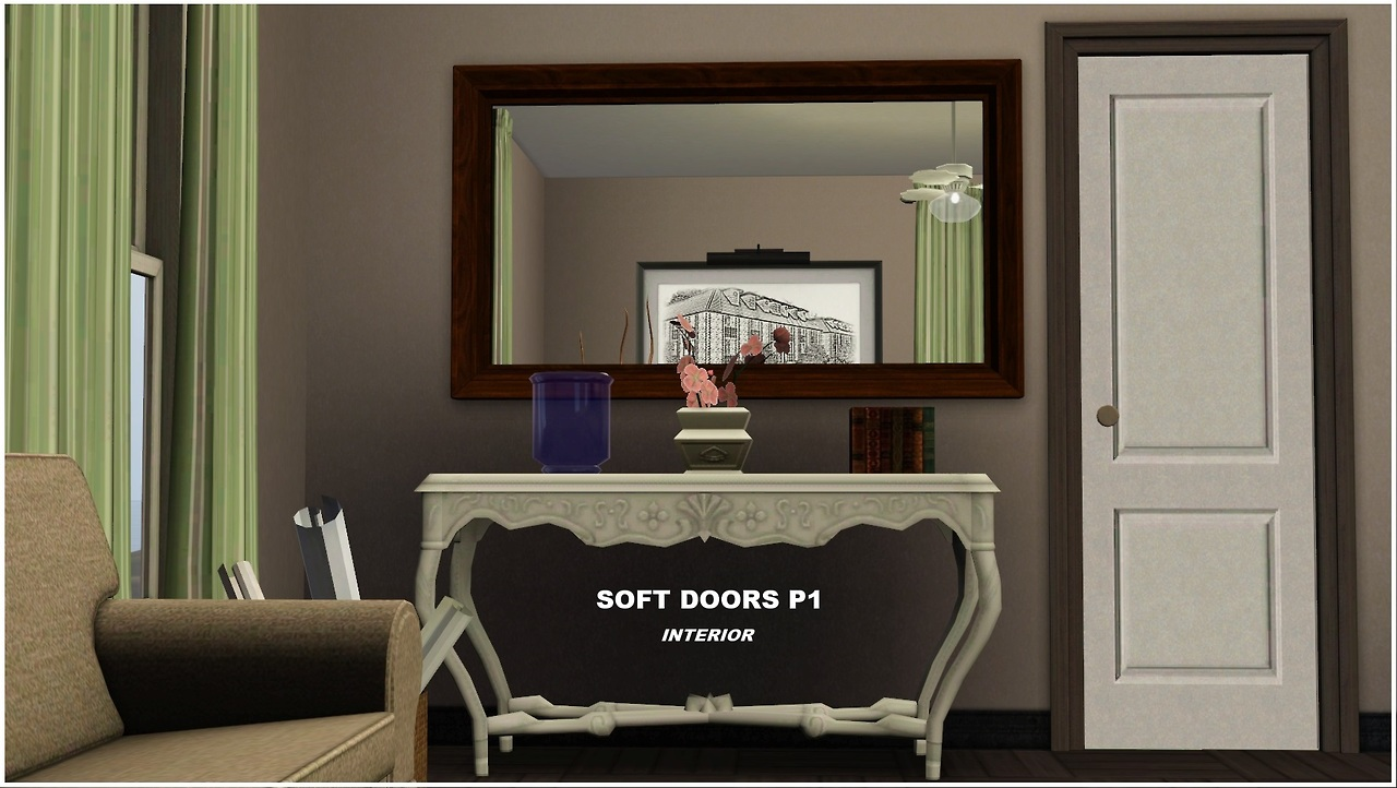 Soft Doors Part 1 by Sims In Spring