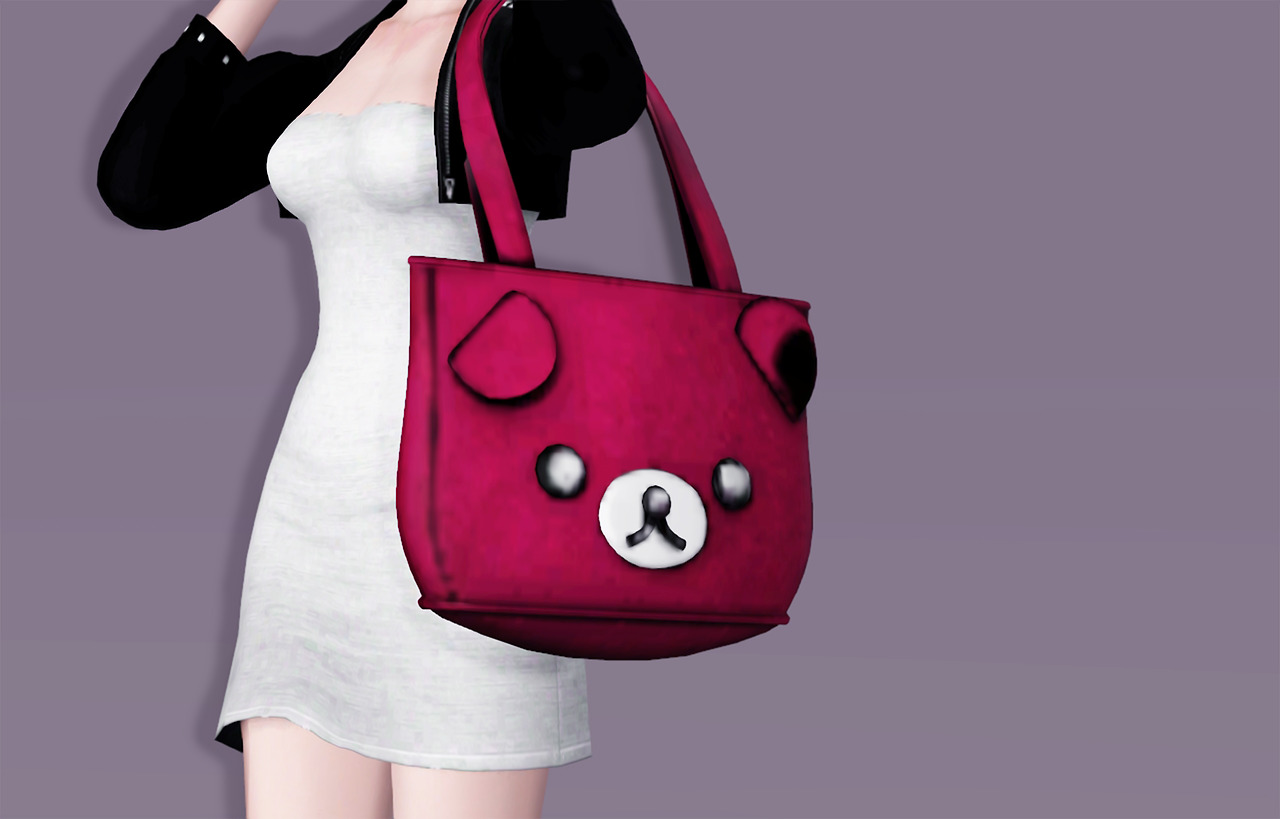 Ted E. Bear_Bag by Ops-Sim