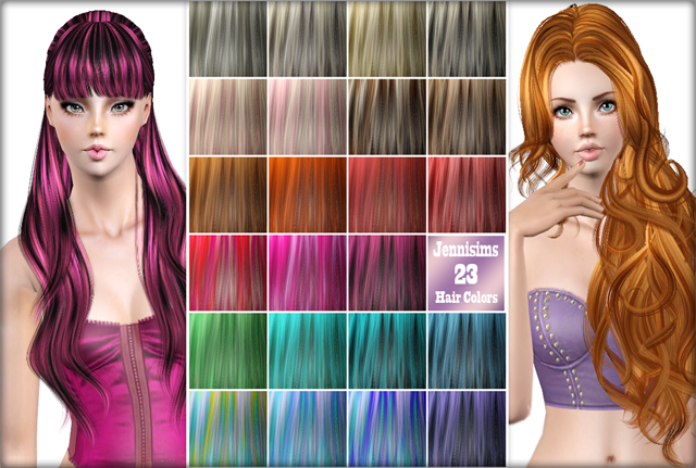 Hair Color Palet Vol 3 by Jenni