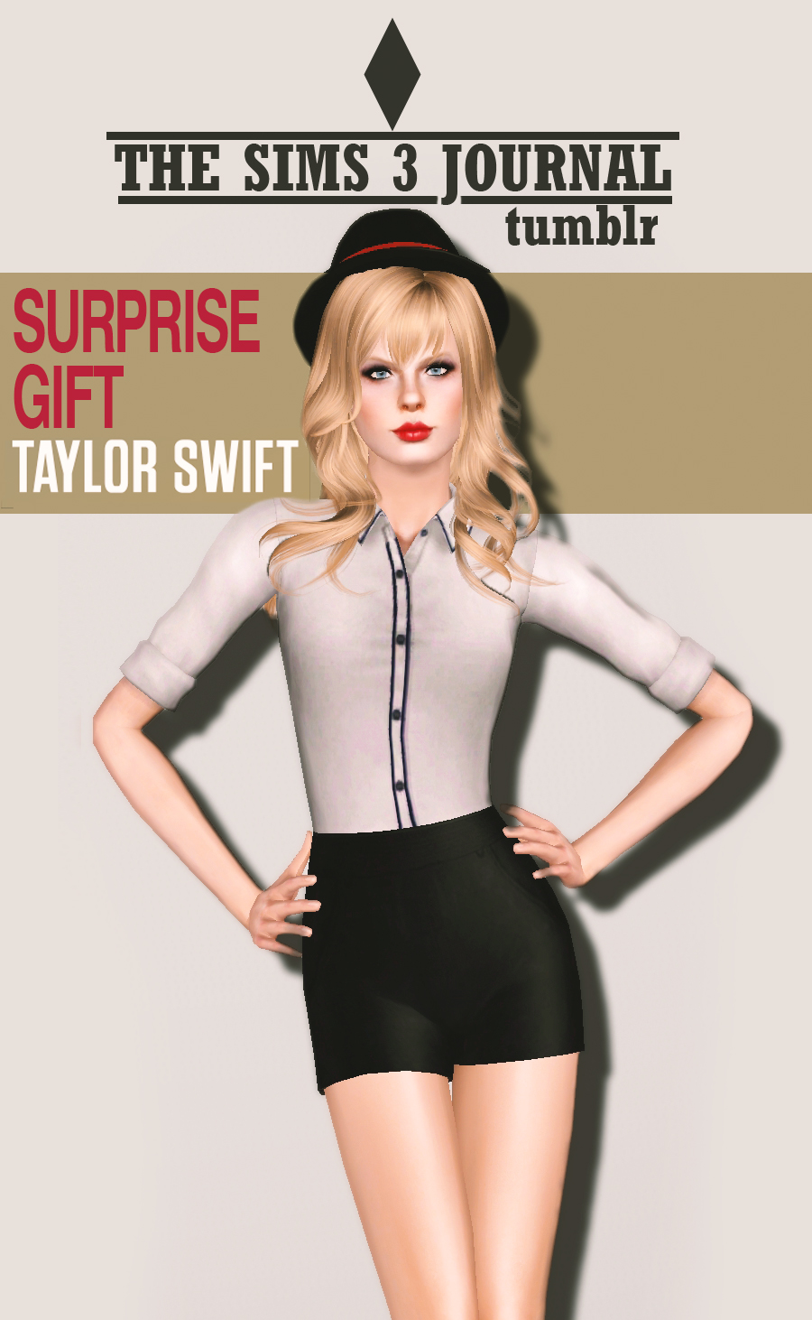 Taylor Swift by thesims3journal