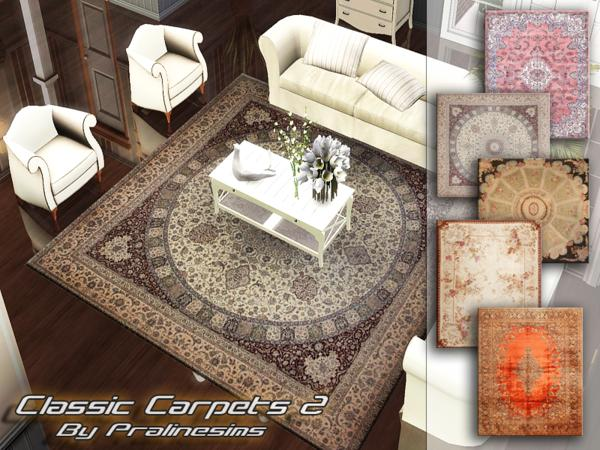 Classic Carpets 2 by Pralinesims