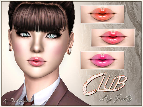 Club Lip Jelly by Pralinesims
