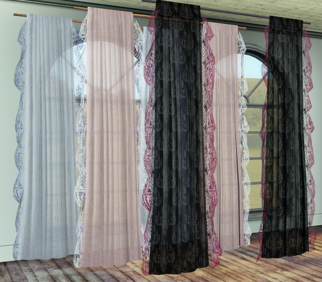 Scent of Spring - Windows & Curtain Mini Set by Pocci