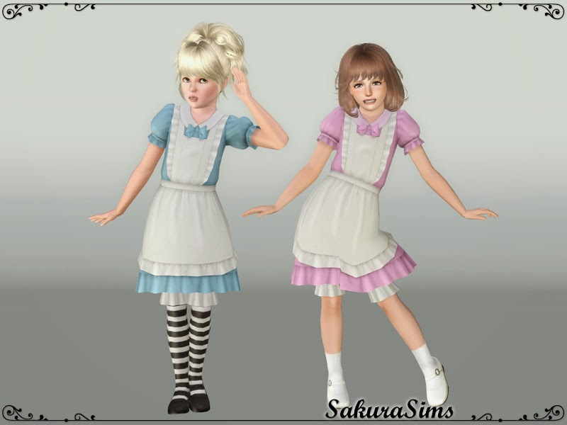 Apron Dress 01 by Sakura