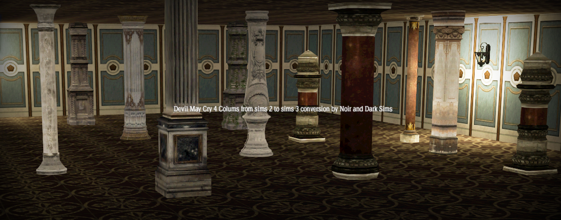 Devil May Cry 4 Columns Converted by Noiranddarksims