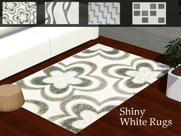 Shiny White Rugs by Pegasus960