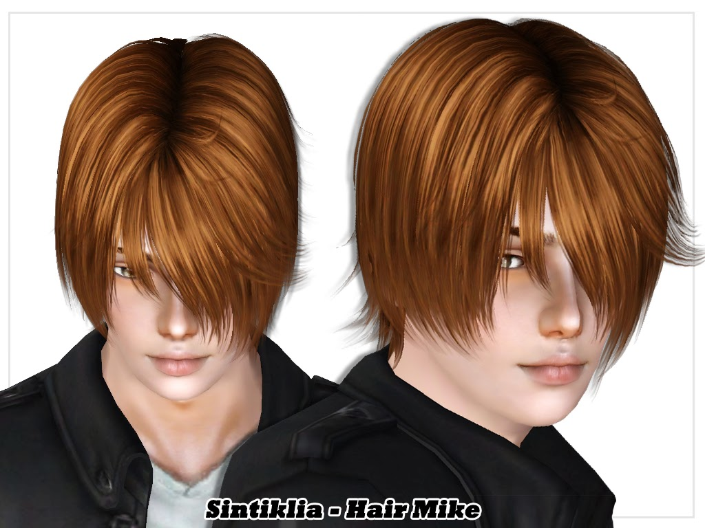 Hair Mike for Sims 3 by Sintiklia