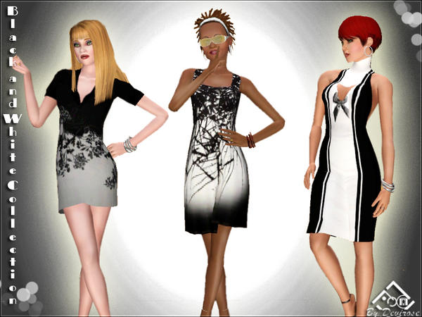 Black and White Dress Collection by Devirose