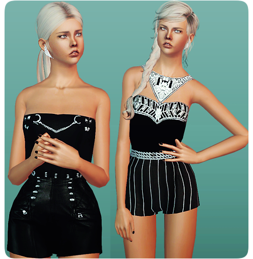 B&W Jumpsuits by MissFortune