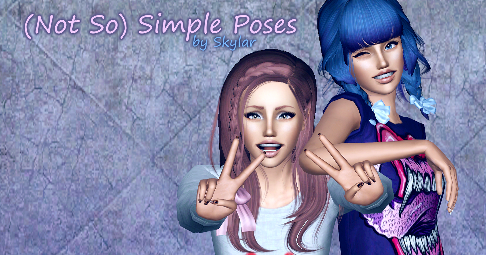 (Not So) Simple Pose Pack by Skylar
