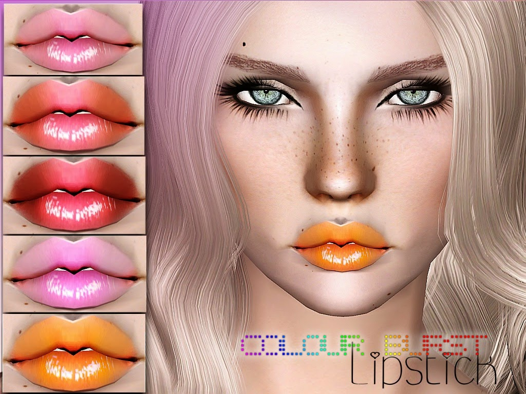 Colour Burst Lipstick by WhiteCrow