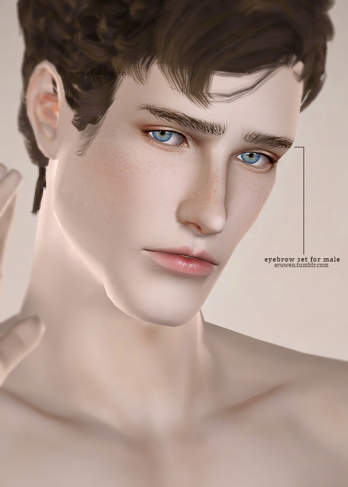 Eyebrows for Teen - Elder Males by Eruwen
