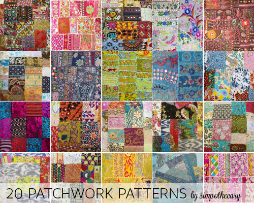 20 Patchwork Patterns by Simpothecary