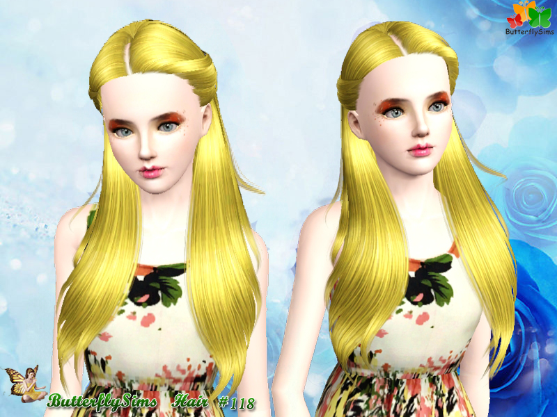 Hairstyle 118 by ButterflySims