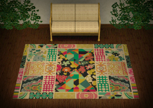 Patchwork Rugs by Simpothecary