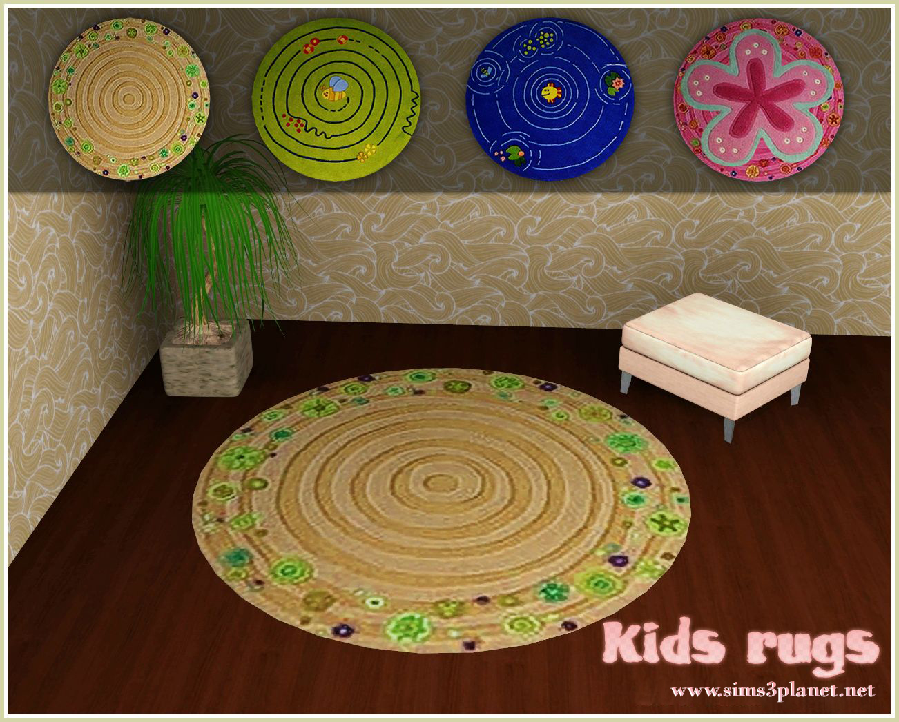Kids rugs by Cassie