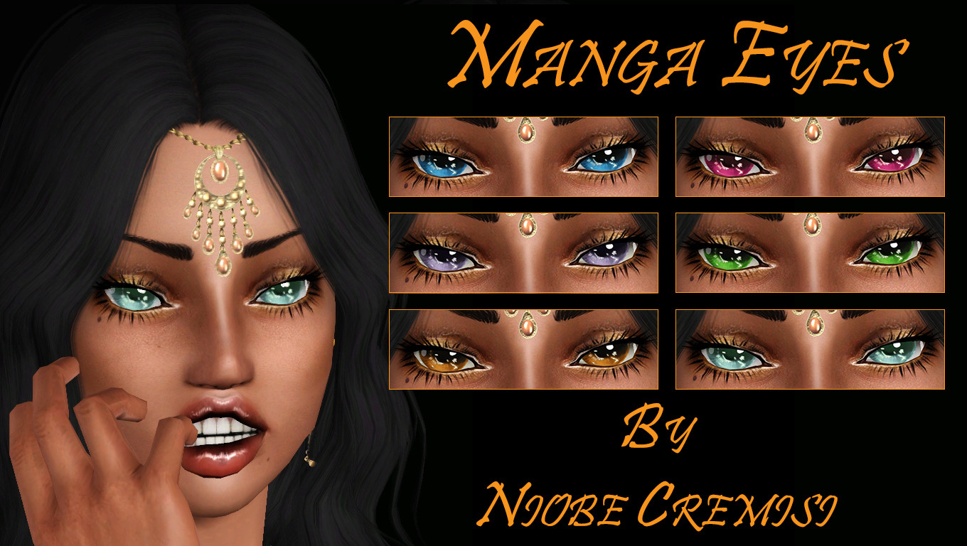 Manga Eyes by niobe cremisi