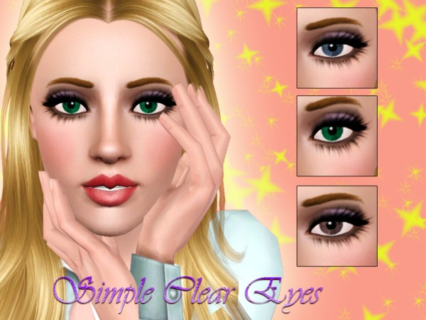 Simple Clear Eyes by Brittany0608