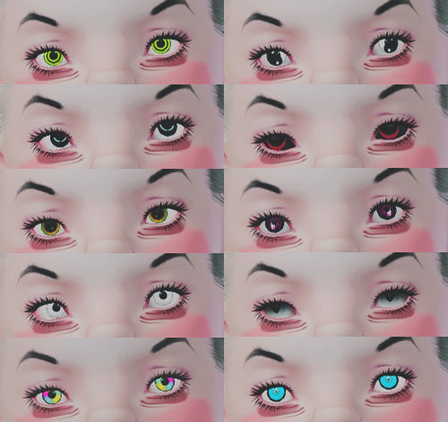 Costume Eyes by Supertrapb0lous