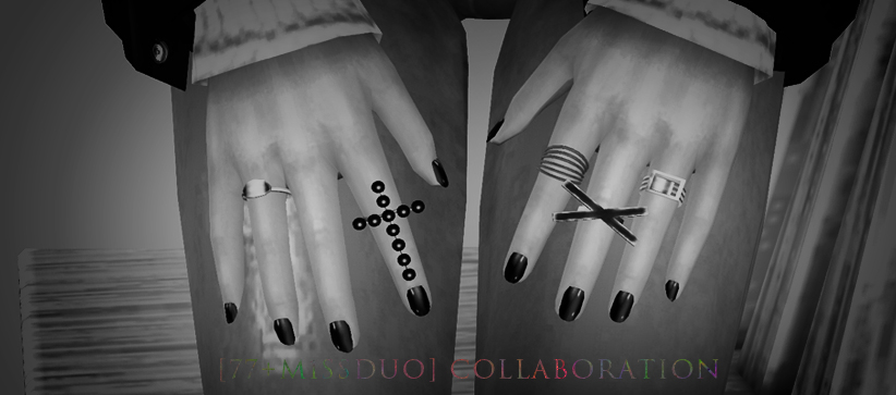 Collab Rings Acc by M1ssduo & the77sim3