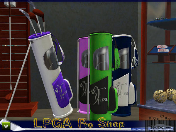 LPGA Pro Shop - Clubs and Bags by BuffSumm