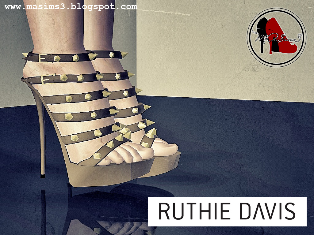 Ruthie Davis Spiked Sandals by MrAntonieddu