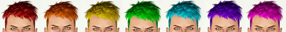 DMC Dante's Hair Converted by Sim It Up
