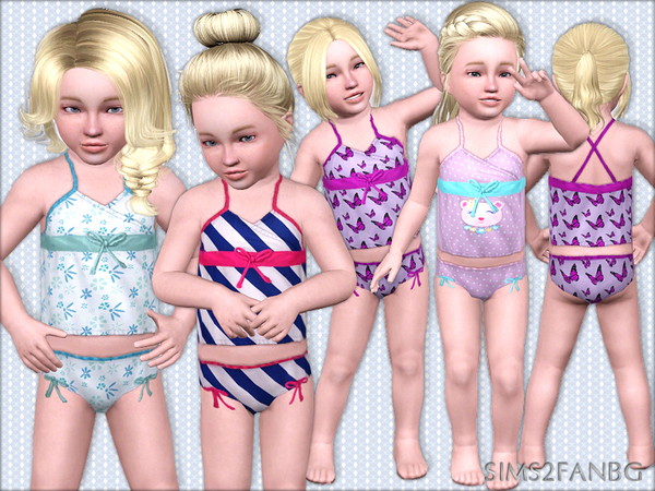 386 - Toddler sleepwear by sims2fanbg