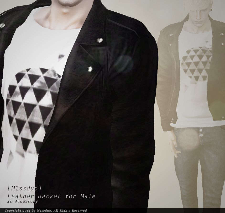 Accessory Leather Jacket by M1ssduo