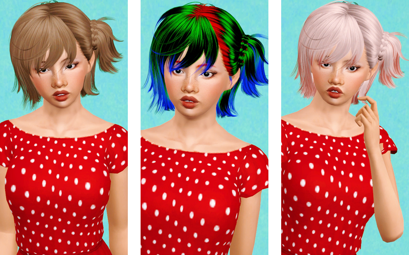 Hungry hair from Newsea retextured by Beaverhausen