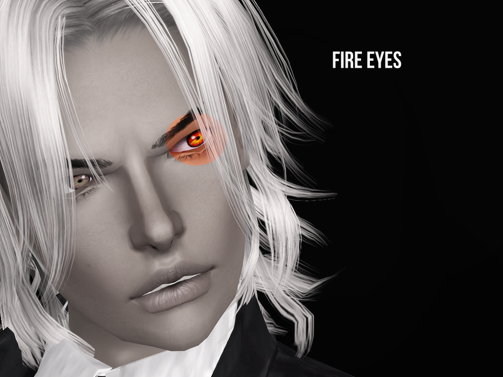 Fire eyes by Lia sims