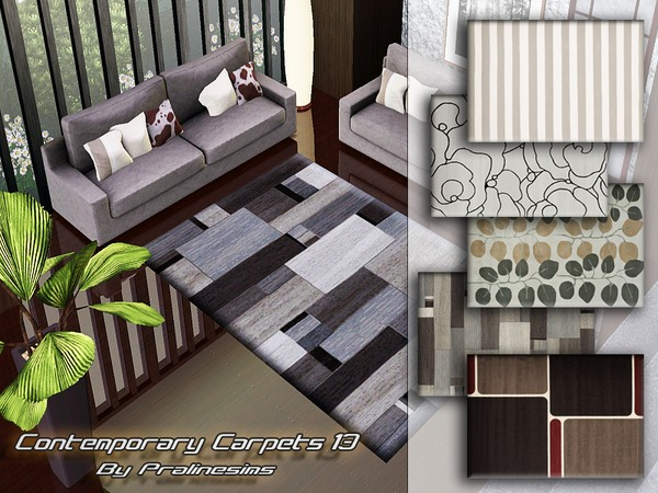 Contemporary Carpets 13 by Pralinesims