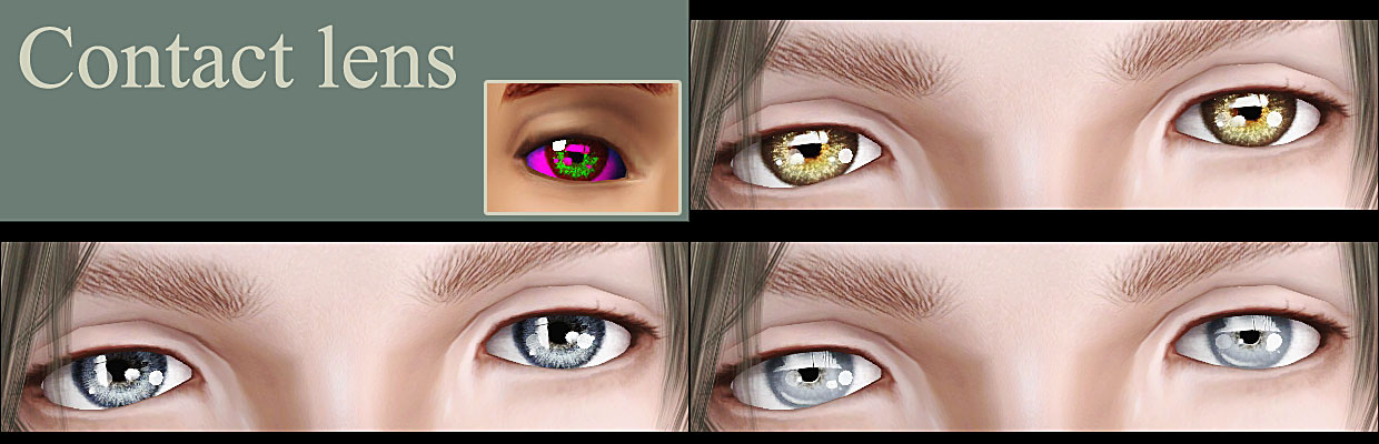 Contact lens by mochi029