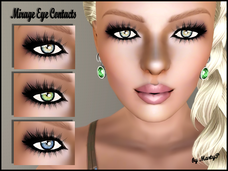 Mirage Eyes Contacts by MartyP