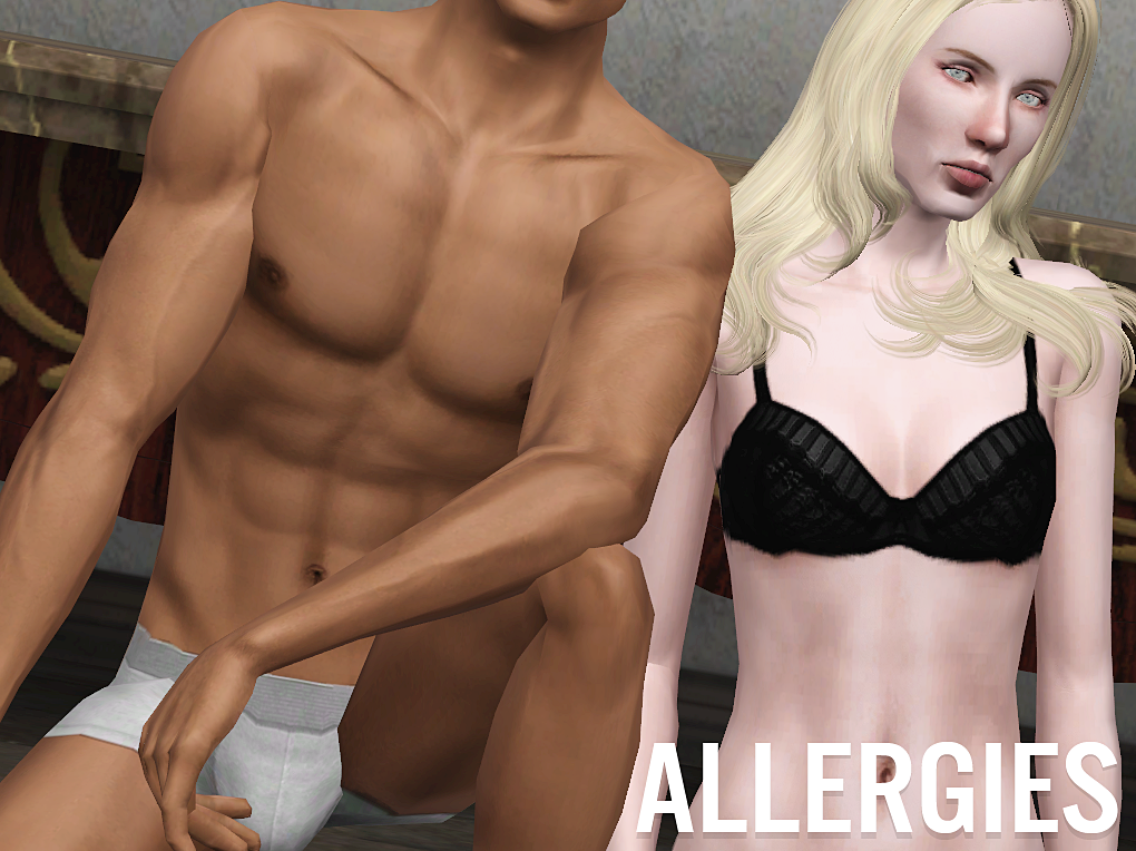 ALLERGIES SKIN by PLUMBOBULATED CC
