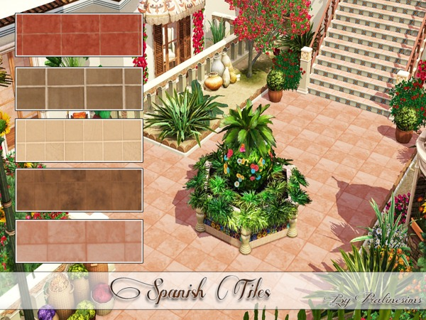 Spanish Tiles by Pralinesims