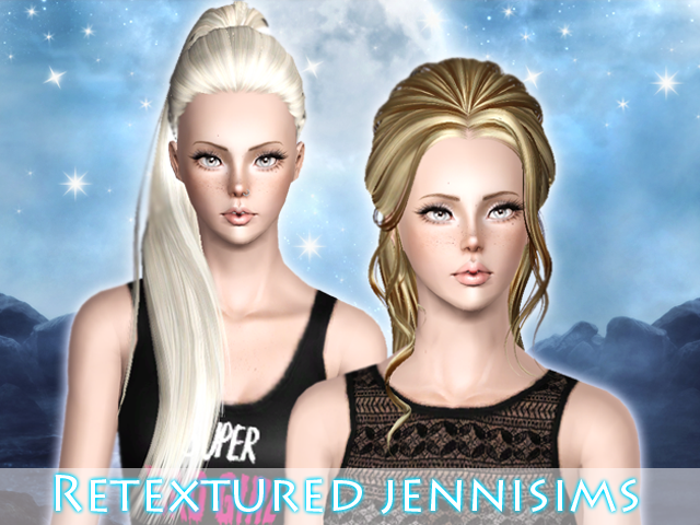 ButterflySims 117 and 116 retextured by Jenni
