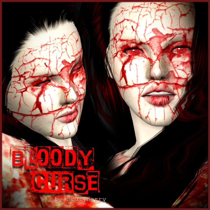 Bloody Curse - Makeup Set by Scary Berry