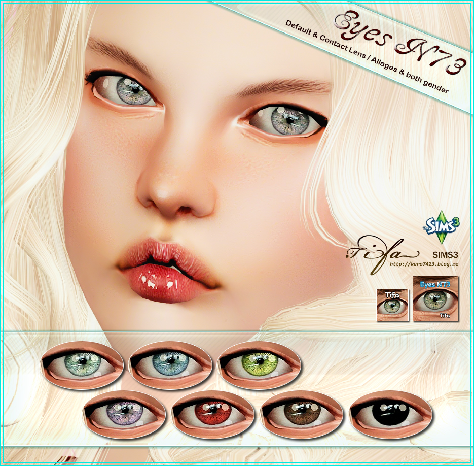 Eyes N73 by Tifa
