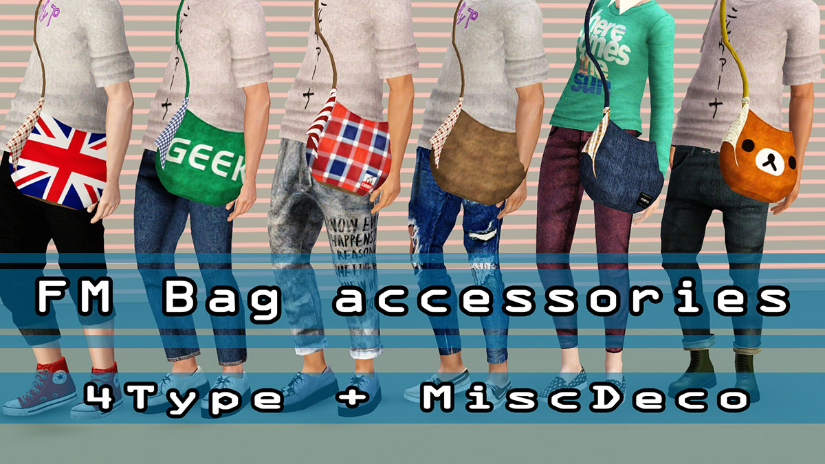 AFM Bag accessories by kimu412