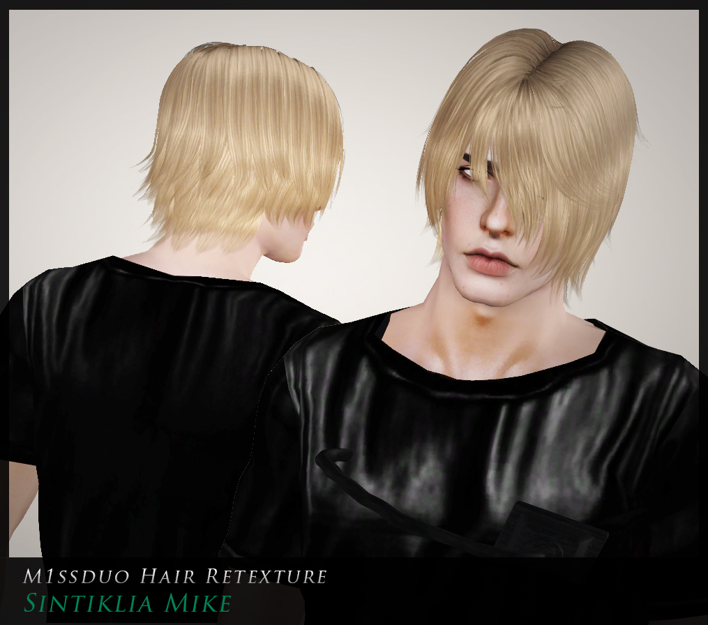 Sintiklia Mike for YA-A male Retextures by M1ssduo