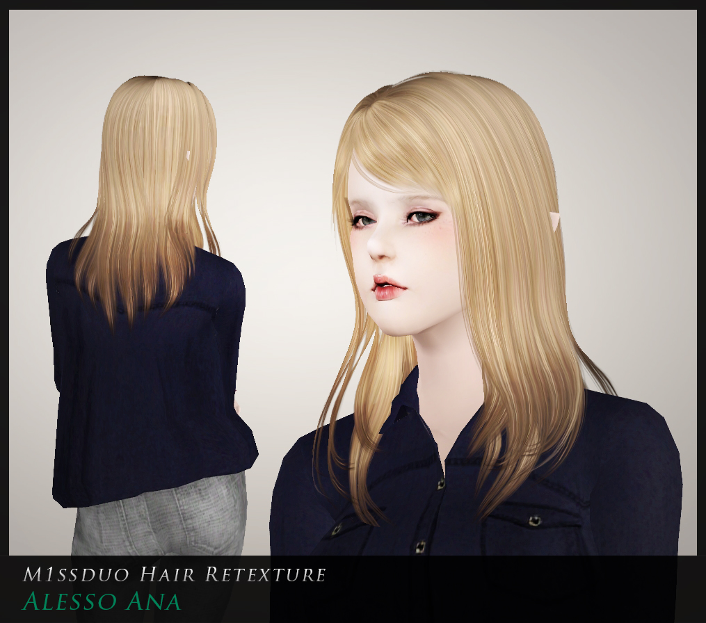Alesso Ana Retextures by M1ssduo