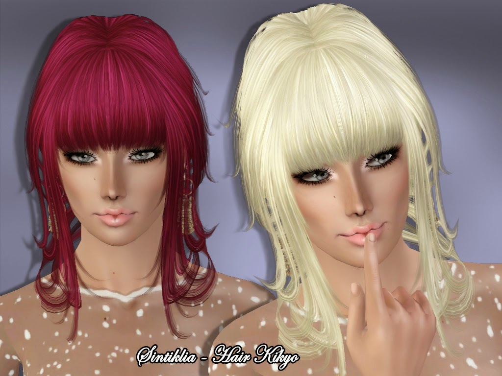 Set Kikyo (hair and cloth) by Sintiklia