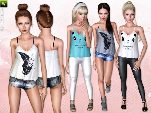 Teen Streetwear Set by lillka