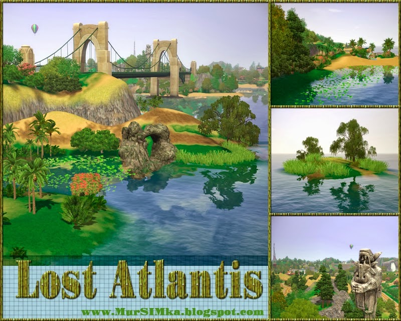 Lost Atlantis Islands by MurSIMka