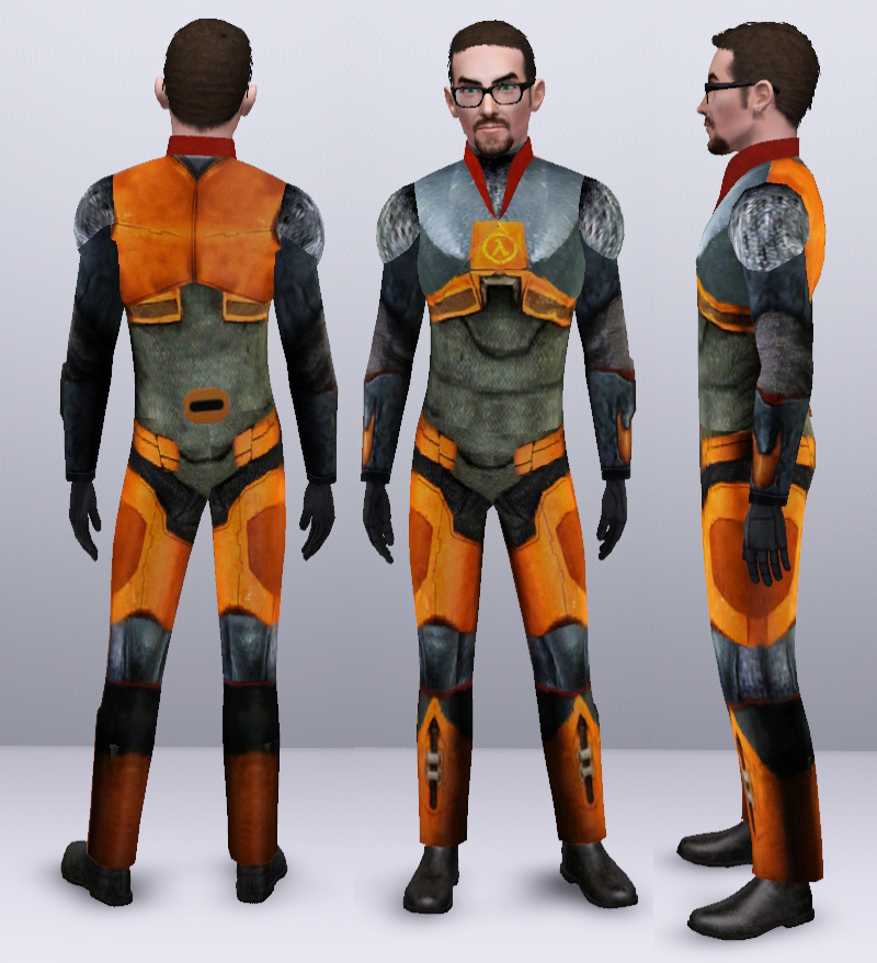 Half Life 2 HEV Suit by Camkitty.