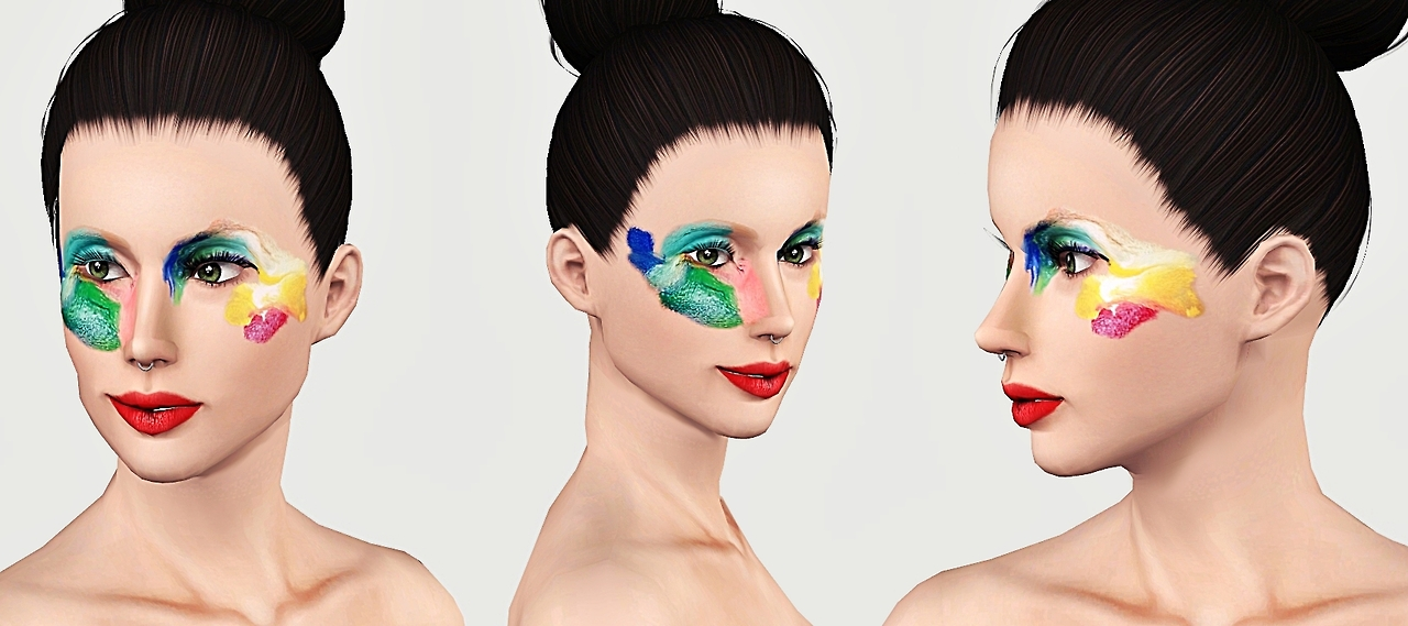 McQueen Resort Dress and Applause Promo Makeup by Artsims