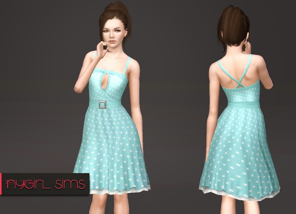 Belted Layer Sundress by NyGirl